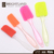 Wholesale 3-piece baking knife Silicone Spatula Set Custom Cream Spatula