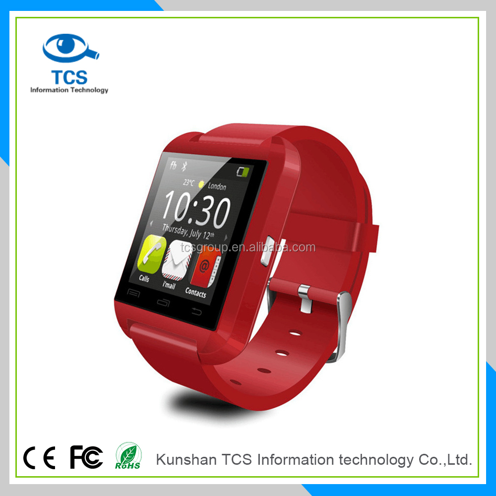2016 bluetooth smart wristband top brands bracelet U8 merry christmas bracelet mobile smart watch phones