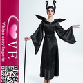 Devil Queen TV Cosplay Deluxe Adult Maleficent Costume With Black Horns