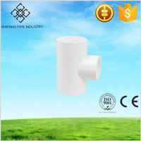 hot sale plastic pvc female threaded tee Shifang Pipe factory direct price