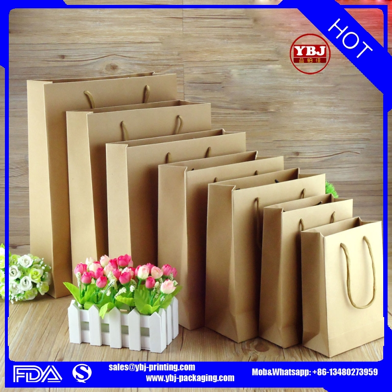 printed mini craft paper bag