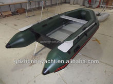 PVC inflatable sport boat with Airmat/aluminum floor