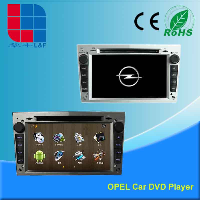 8 inch opel astra h car radio portable DVD player GPS navigation system with GPS BT DVBT IPOD 3G WIFI 108