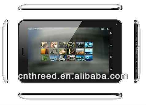 mini pc android 7inch tablet 3g sim card slot built-in 3G phone calling bluetooth allwinner a13 Android4.1 3g tablet