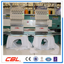 2 head garment embroidery machine use dahao software /cap embroidery machine