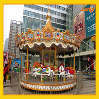 Sports And Entertainment Amusement Park Carousel