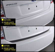 High Quality Car Door Chrome Accessories Rear Auto Gate Lower Part Car Door Protection Strip