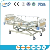 MINA-MB3203B high-level Hospital 3 cranks clinic sickbed