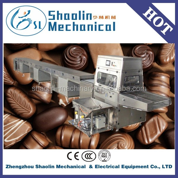 Hot sale chocolate enrober cooling tunnel