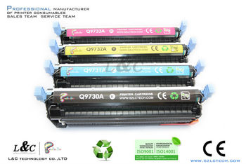 compatible color toner cartridge for hp C9730A/C9731A/C9732A/C9733A toner cartridges