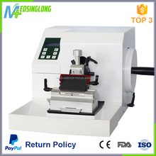 China manufacture medical equipment semi automatic microtome price
