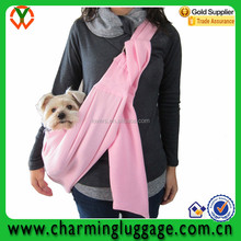 Reversible Pet Sling Carrier with adjustable shoulder strap