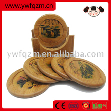 fashion wooden cup holder