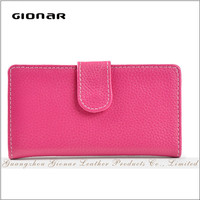 hot sale designer women famous brand ladies german long wallet