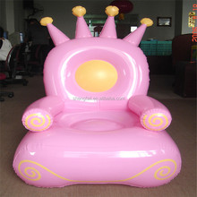 2017 factory low price inflatable sofa / air chair with queen stytle