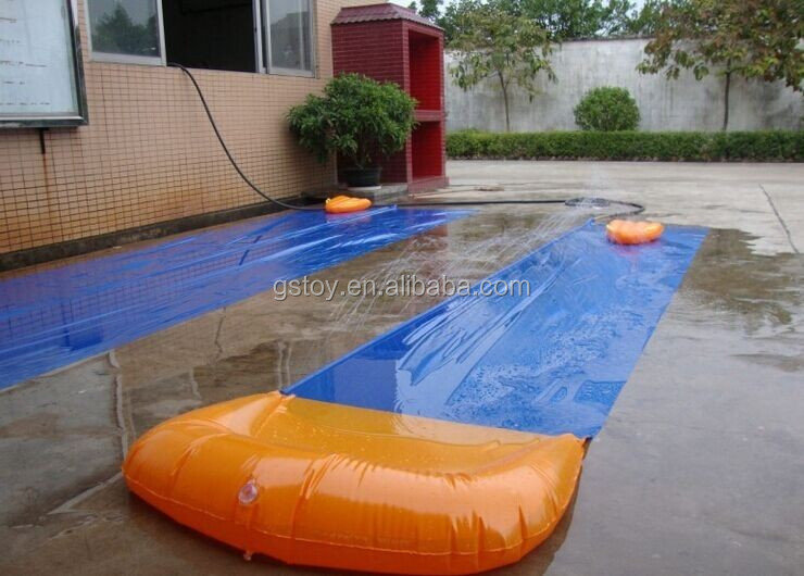 custom cheap inflatable water slides for sale