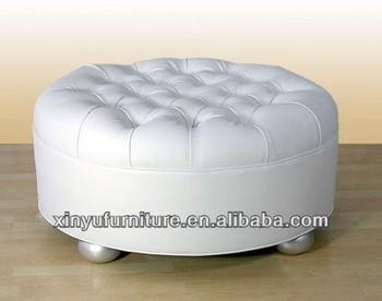 unique design round seat ottoman sofa with buttons top xy0314 buy unique round ottoman white. Black Bedroom Furniture Sets. Home Design Ideas