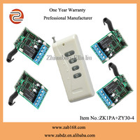 wireless remote control switch and 12v receiver for garage door