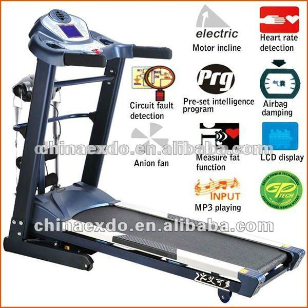 Esteira Athletic Commercial 4hp treadmill incline motor treadmill multifunctional treadmill EX-709A