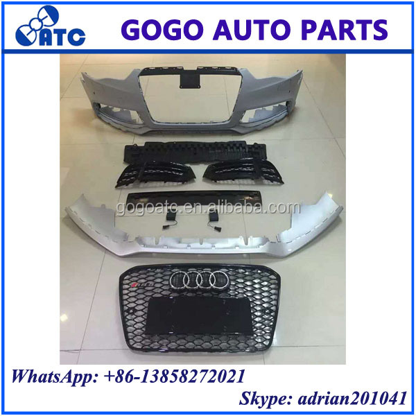 FOR AUDI RS5 2013 - 2016 BODY KIT RS5 FRONT BUMPER RS5 GRILLE