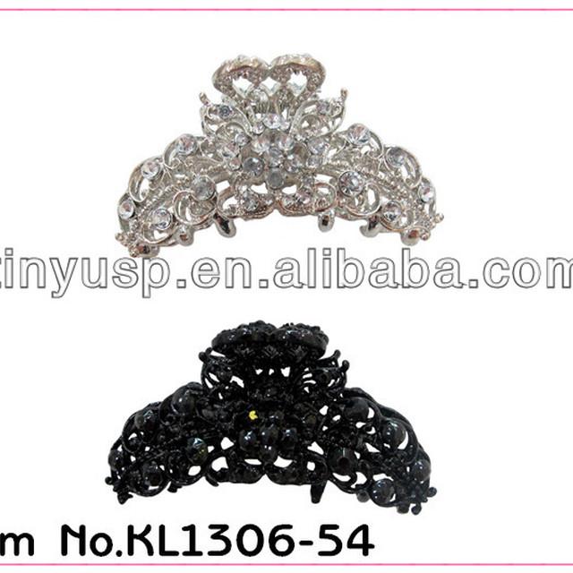 fashion crystal claw hair clips cute hair claw clips