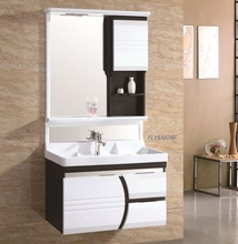2017 furniture home depot wall mount pvc bathroom sink vanity cabinet
