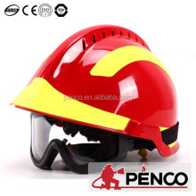 Factory price fireman firefighting rescue helmet