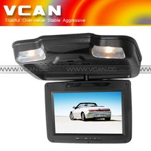 10.2inch Roof mount car dvd system with IR, FM, USB