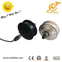 350w 36v ebike brushless geared hub motor