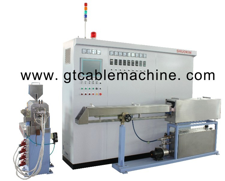 Plastic Cable Extruder Machine Factory