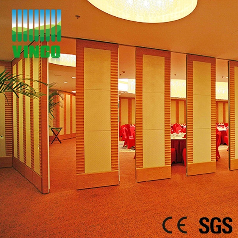 china hot wooden decorative partition walls operable