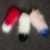 15cm 20cm 25cm faux fox fur tail keychain mixed colors fake fox tails