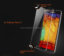 0.33MM clear Tempered Glass Screen Protector for Samsung Galaxy Note3 Note4
