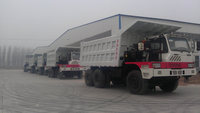 SINOTRUK HOWO tipper truck for Ethiopia with 371hp engine capacity 20cbm front lifting carriage