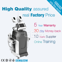 Salon wanted professional 8 in 1 vacuum cavitation cryolipolysis fat freeze slimming machine