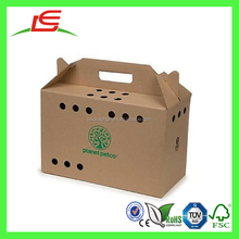 G043 China supplier High Quality Customized Wholesale Pet Carrier Cardboard Box