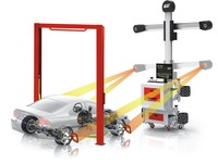 Hot Sale 3D Wheel Alignment /Four Wheel Aligner and Balancing Machine
