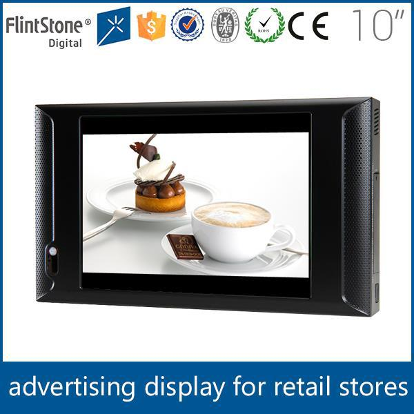 FlintStone10 inch beverage digital advertising player,innovative advertising product