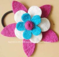 handmade felt hairband