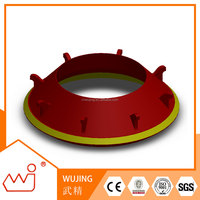 Mining Machinery Parts concrete crusher for sale for Telsmith 57s bowl liner customized for brand crusher parts