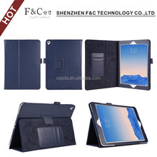 "Wholesale tablet case for ipad pro 9.7"" leather cover stand feture protector casing"
