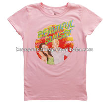 Girls Teen Beach Movie Beautiful Sunset T-Shirt