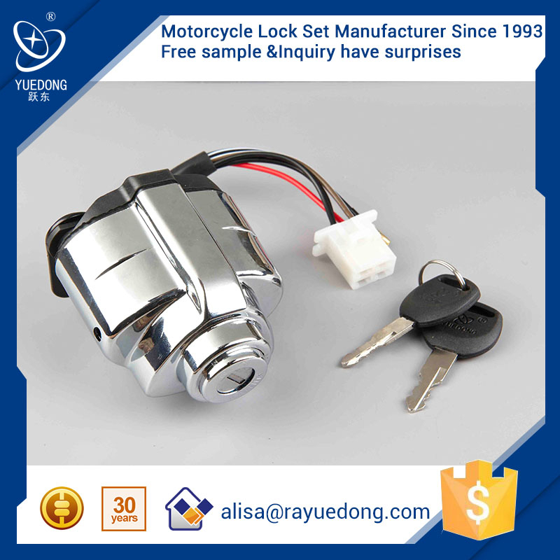 YUEDONG CA250 motorcycle ignition switch for honda parts ignition switch key
