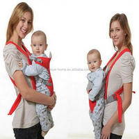 High quality Multifunctional front and back baby carrying product/Ergonomic design kangaroo baby carrier/baby sling bag
