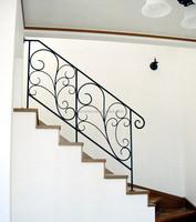 metal handrails for porch steps