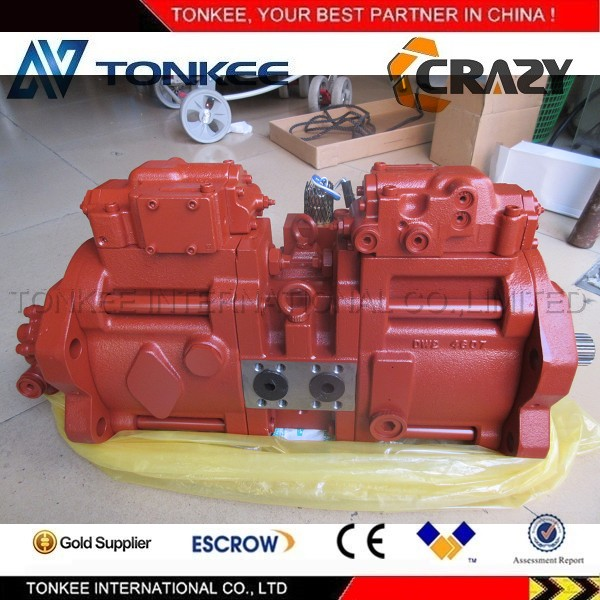 Excavator K3V112DT hydraulic main pump for SAMSUNG SE210-3 hydraulic pump