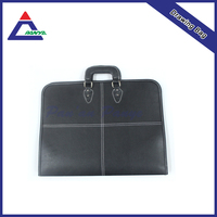 54*34CM Big Fashion leather folder portfolio case for documents or microsoft surface