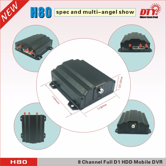 hard drive recorder ,data encrpty dvr WIFI mobile dvr ,H80W