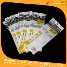 Printed opp adhesive backed plastic bag