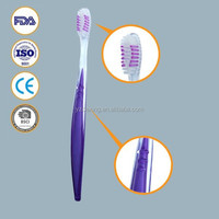 Transparent PS Material handle travelling toothbrush